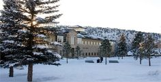 Winter time at Fort Lewis College.  For more information: www.fortlewis.edu