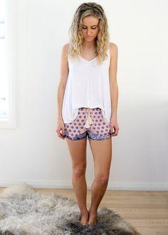 bohemian / gypsy / shorts / summer / fashion  www.thebirdtree.com.au