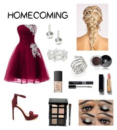 """""""Homecoming"""" by tessasantelli ❤ liked on Polyvore featuring M&Co, Michael Kors, Bobbi Brown Cosmetics, Chanel, NARS Cosmetics and Christian Dior"""