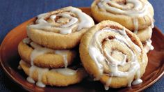 Add these cinnamon roll cookies to your party's menu that are made using Betty Crocker® cookie mix - a tasty dessert.