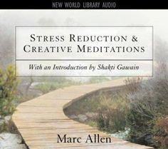 """A companion to the audio program """"Stress Reduction and Creative Meditations"""", this audiobook guides listeners toward a more fulfilling, less harried life at work by using soothing words and music and exercises in meditations and visualizations.  http://find.minlib.net/iii/encore/record/C__Rb2361045"""