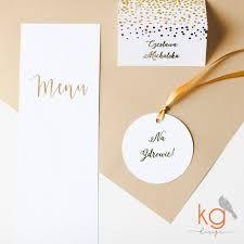 Znalezione obrazy dla zapytania złote zaproszenia ślubne