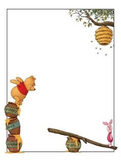 Journal Card - Winnie the Pooh - Piglet - Beehive - 3x4 photo: A little 3x4inch journal card to brighten up your holiday scrapbook! Click on options - download to get the full size image (900x1200px). Logo/picture/clipart belong to Disney. ~~~~~~~~~~~~~~~~~~~~~~~~~~~~~~~~~ This card is **Personal use only - NOT for sale/resale/profit** If you wish to use this on a blog/webpage please include credits AND link back to here. Thanks and enjoy!! This photo was uploaded by pixiesprite