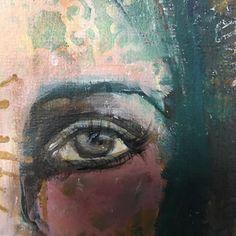 The window to the soul!! . . . #artjournalentry #mixedmedia #acrylic #instaart #instaartist #artoninstagram #artpractice #eye #windowtothesoul #arthabit #artjourney #madetocreate  #creativeexpression #soulfulart #narrativeart #create #dowhatyoulove  #art #creative #layersofpaint #createeveryday #paint #selfexpression #creativeplay #explore #artjournal #creativejourney #artisticpath #journalart #mixedmediajournal