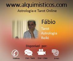 Nosso Tarólogo e Astrólogo Fábio, Maior parte dos comentários de nossos clientes gostaram de seu atendimento e do jeito tranquilo de falar. Equipe Alquimísticos