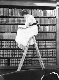 Image result for vintage photos women reading