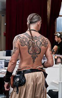 kinyux's cellardoor photoblog: Serie Tattoo 16 : viking style