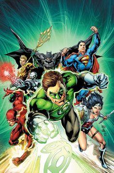 Justice League #44 illustrated by Ivan Reis & Joe Prado.