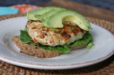 Thai Spiced Turkey Burgers on sprouted-grain bread -- ideal quick dinner for Phase 3 (just add a salad or extra veggie).