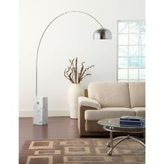 Sunflower Cube Floor Lamp 141-WHI by LexMod