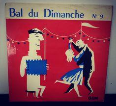 """45 T vinyl """"Le Bal du Dimanche"""""""