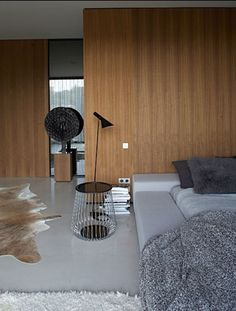 :: BEDROOMS :: INTERIORS :: I love the bed richly layered interiors designed by Studio Ko. Photo Credit: www.studioko.fr