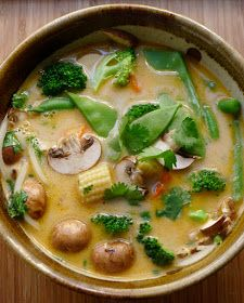 I can easily make this vegan. An Urban Cottage: Tom Ka Soup