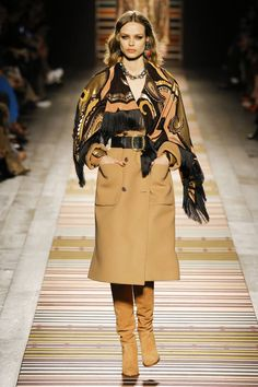 Etro Autumn-Winter 2018-2019 (Fall 2018), shown 25th February 2018