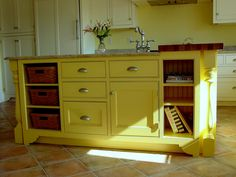 Upcycle an old dresser or similar find and turn it into a kitchen Island!