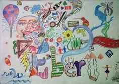 2012. técnicas mixtas y muchas ideas. #Colours #arte