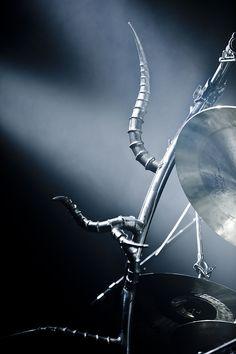 Frost's (Satyricon) Drum Set