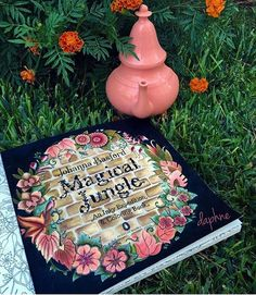 With Johanna Basfords New Book Magical Jungle Was Being Sent Me By Staedtler Thank You So Much For Coloring And Pencils
