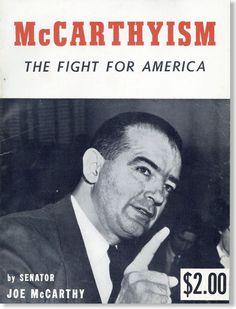 Il maccartismo fu un periodo storico degli USA degli anni '50 caratterizzato da un intenso sospetto anticomunista.