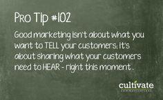 Marketing Pro Tip #102