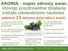 Aronia - polska superfood - Alkaliczny styl życia Beata Sokołowska