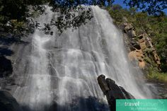 Enchanted Hogsback Forest   Madonna and Child  Waterfall  in flood