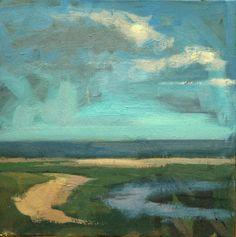 Dean Fischer - Beach-Windy Day