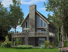 House Plan 50349 | Plan with 1094 Sq. Ft., 3 Bedrooms, 3 Bathrooms
