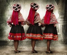 Mario Testino's Alta Moda - photographs of Peruvian heritage in traditional dress
