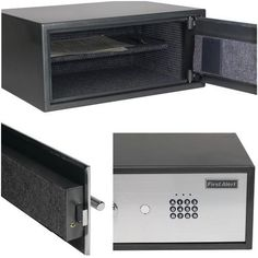 This anti-theft safe is perfect for securing a laptop computer up to 15 in…