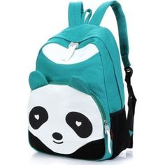 Panda  backpack Cute Backpacks da2f185765e36