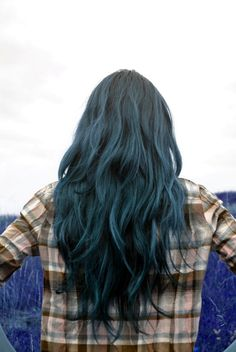 blue hair: been wanting this. just need the courage ;)