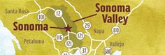 Sonoma Maps
