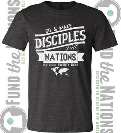 cb8bd070 Purchase T-shirts to help support my mission trip to Ethiopia next month.  This