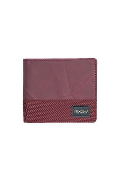 The Origami Bi-Fold Zip Wallet from Nixon. A collection tailored to the worldly and wise, these are the essentials of those who know.