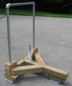 DIY push sled