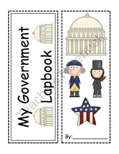 Branches and Levels of Government Lapbook from Lovin-Life on TeachersNotebook.com (10 pages)