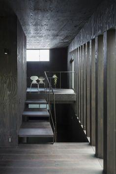 "Grass Cave House by Makiko Tsukada Architects ""Location: Yokohama, Kanagawa, Japan"" 2013"