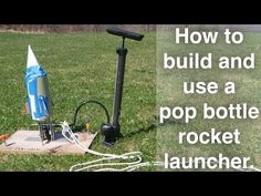 How to Make a Soda Bottle Rocket Launcher With Your Kids | My Kids' Adventures
