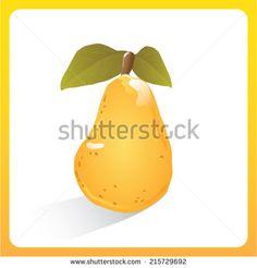 An illustration of a pear #armuduniyisiniayilaryer