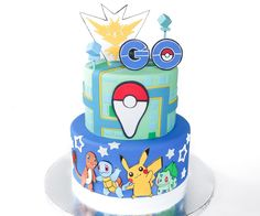 Which team are you on? Which team is the best? How many characters do you have? Does anyone have all the legendary Pokemon? Where is the strangest place you have ended up? Who wants a Pokemon Go birthday cake? If you answered yes to most of these questions it's highly likely you are addicted!! ;)Tell me everything you know in the comment section below...I want to hear all about it!After you tell me fabulous things about Pokemon Go, check out how I made this awesome cake!!