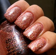 Glam Polish: China Glaze - Fireside Glow