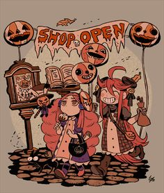Find images and videos about autumn, Halloween and goth on We Heart It - the app to get lost in what you love. Halloween Illustration, Halloween Drawings, Halloween Art, Illustration Art, Pretty Art, Cute Art, Character Art, Character Design, Aesthetic Art