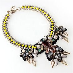 Gorgeous J.Crew necklace. (I got it for a steal at the outlet!)