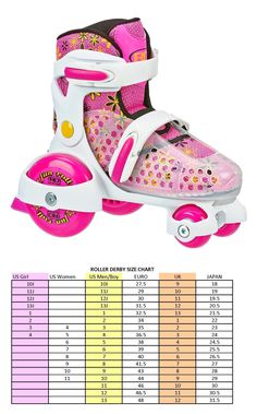 Youth 71156: Roller Derby Girls Fun Roll Adjustable Roller Skate -> BUY IT NOW ONLY: $32.9 on eBay!