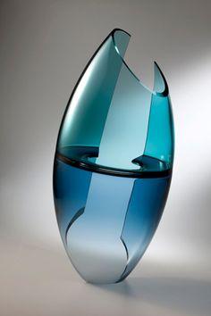 JOHN KILEY | Glass Sculpture by John Kiley at Schantz Galleries