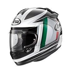 #Arai #Chaser-V #Flag #ITA #Motorbike #Helmet Buy yours on www.helmade.com