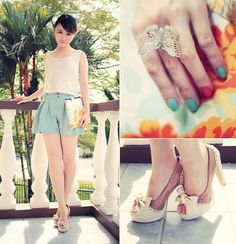Mint and Watermelons #Fashion