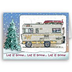 Winnebago RV Holiday Cards