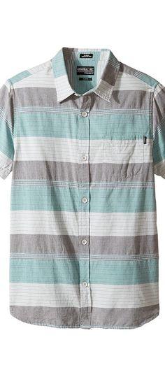 O'Neill Kids Rhett Short Sleeve Woven Shirt (Big Kids) (Asphalt) Boy's Short Sleeve Button Up - O'Neill Kids, Rhett Short Sleeve Woven Shirt (Big Kids), SP7204104-DCH, Apparel Top Short Sleeve Button Up, Short Sleeve Button Up, Top, Apparel, Clothes Clothing, Gift, - Fashion Ideas To Inspire